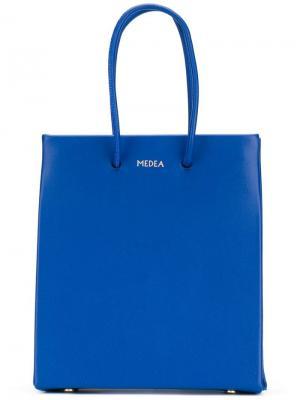 Сумка-тоут Prima Medea. Цвет: синий