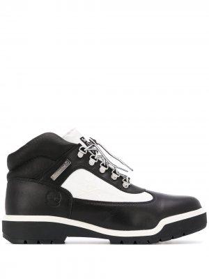 Ботинки хайкеры в стиле колор-блок Timberland. Цвет: черный