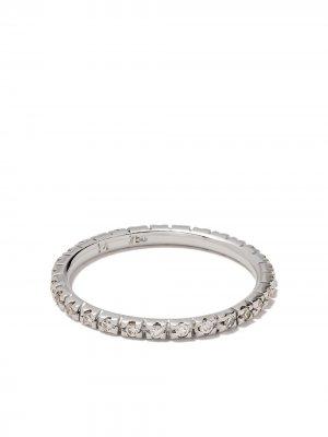 Кольцо из белого золота с бриллиантами Ileana Makri. Цвет: белый