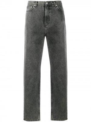 Зауженные джинсы A.P.C.. Цвет: черный
