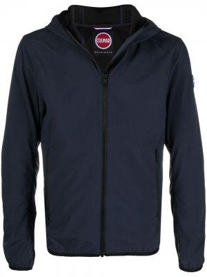 Куртка с нашивкой-логотипом Colmar. Цвет: синий