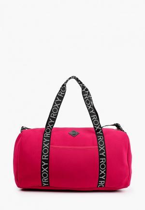 Сумка спортивная Roxy. Цвет: розовый