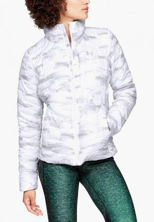 Куртка утепленная Under Armour. Цвет: белый