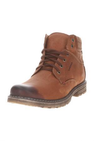 Ботинки GOERGO. Цвет: коричневый