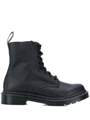 Ботинки 1460 на шнуровке Dr. Martens. Цвет: черный