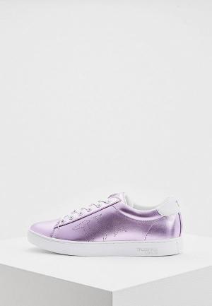 Кеды Trussardi Jeans. Цвет: фиолетовый