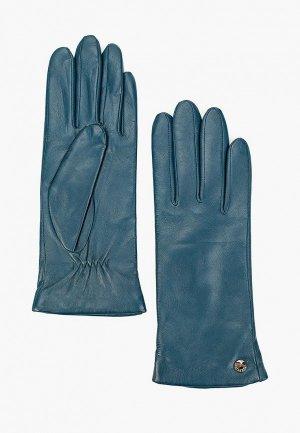 Перчатки Fabretti. Цвет: бирюзовый