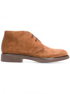 Lace-up boots Doucal's. Цвет: коричневый