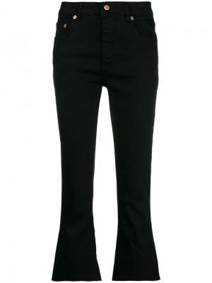 Укороченные джинсы клеш Department 5. Цвет: черный