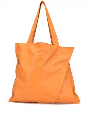 Сумка-тоут Origami Discord Yohji Yamamoto. Цвет: оранжевый