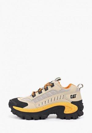 Ботинки трекинговые Caterpillar. Цвет: бежевый