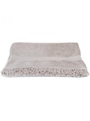Пляжное полотенце Hermès Vintage. Цвет: серый