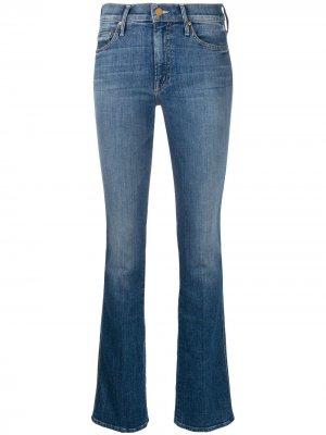 Расклешенные джинсы  Runaway MOTHER. Цвет: синий