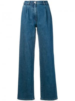 Широкие джинсы Giacomo Vanessa Seward. Цвет: синий