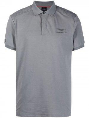 Рубашка поло из коллаборации с Aston Martin Hackett. Цвет: серый