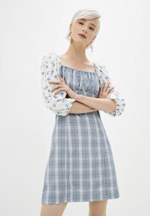 Платье Sister Jane. Цвет: голубой