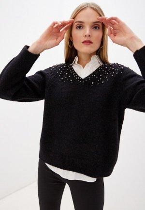 Пуловер Laurel. Цвет: черный