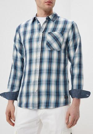 Рубашка Blend. Цвет: синий
