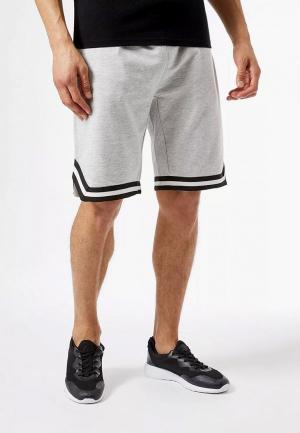Шорты спортивные Burton Menswear London. Цвет: серый