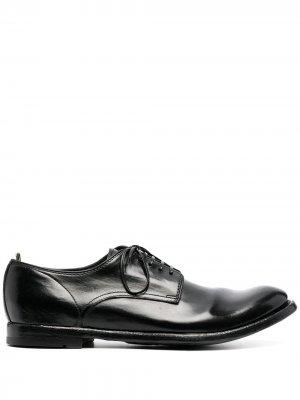 Туфли оксфорды Officine Creative. Цвет: черный