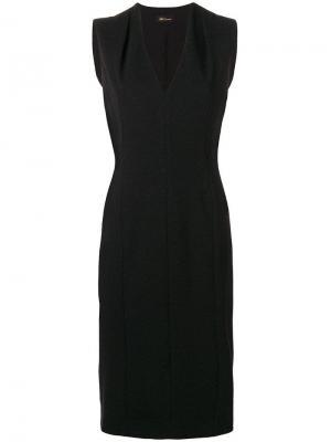 Платье без рукавов Les Copains. Цвет: черный
