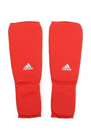 Щитки adidas Combat. Цвет: красный