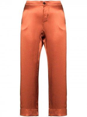 Укороченные пижамные брюки Antibes Asceno. Цвет: оранжевый
