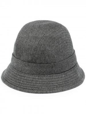 Кашемировая шляпа Meryl Loro Piana. Цвет: серый