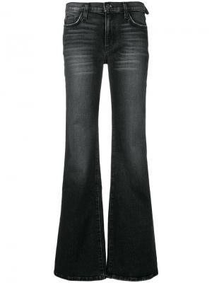 Расклешенные джинсы Current/Elliott. Цвет: черный