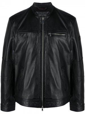Куртка-бомбер Peuterey. Цвет: черный