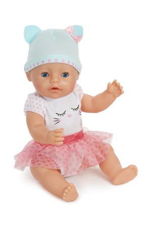 Кукла Беби Борн голубые глазки Baby Born. Цвет: бежевый
