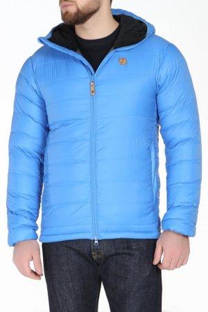 Куртка FJALLRAVEN. Цвет: голубой