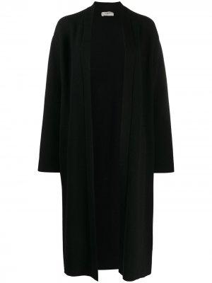 Пальто длины миди с поясом Barena. Цвет: черный