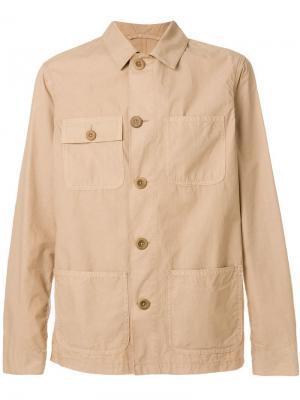 Куртка рубашечного кроя в стиле сафари Altea. Цвет: нейтральные цвета