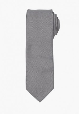 Галстук Selected Homme. Цвет: серый