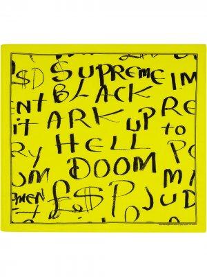 Бандана Ark Supreme. Цвет: желтый