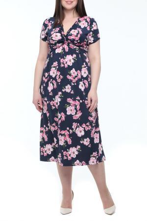 Платье Leshar. Цвет: мультицвет