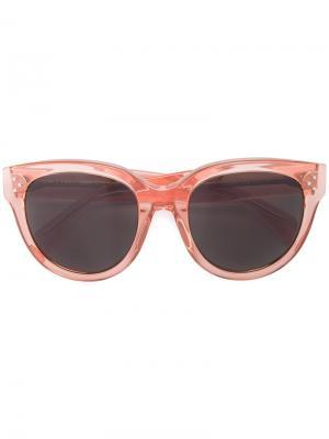 Солнцезащитные очки Celine Eyewear. Цвет: желтый