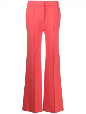 Расклешенные брюки с завышенной талией Victoria Beckham. Цвет: оранжевый