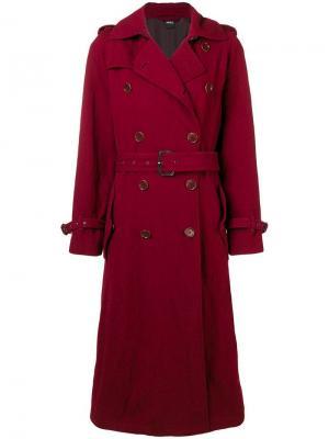 Boxy trench coat Aspesi. Цвет: красный