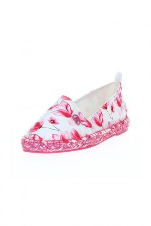 Эспадрильи Armani Jeans. Цвет: розовый
