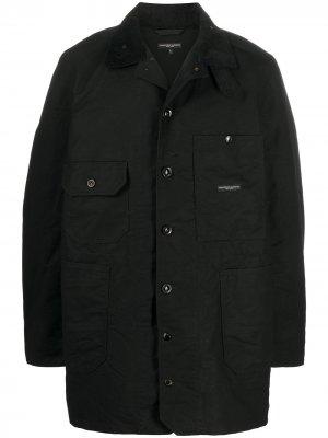 Куртка с карманами Engineered Garments. Цвет: черный