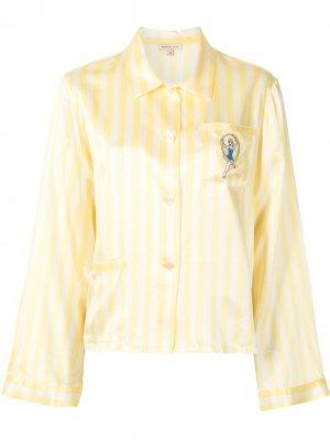Пижамная рубашка Ruthie Morgan Lane. Цвет: желтый