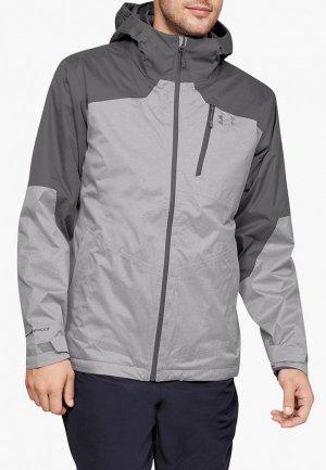 Куртка утепленная Under Armour. Цвет: серый