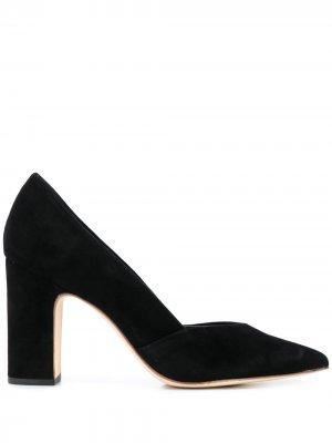 Туфли-лодочки Paulina с заостренным носком Loeffler Randall. Цвет: черный