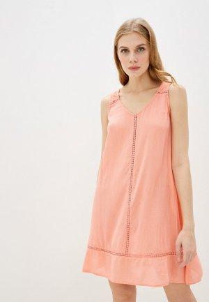 Платье пляжное Marks & Spencer. Цвет: розовый