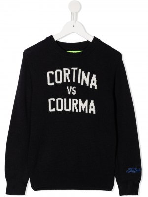 Джемпер Cortina VS Courma Mc2 Saint Barth Kids. Цвет: синий