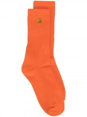 Носки Chase Carhartt WIP. Цвет: оранжевый