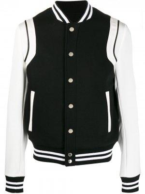 Куртка-бомбер Balmain. Цвет: черный