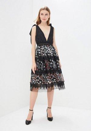Платье True Decadence. Цвет: черный